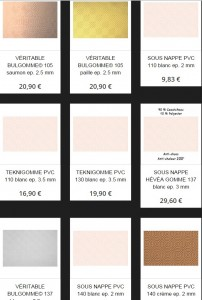 sous nappe protection